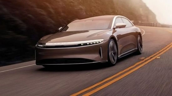 图片来源:Lucid Motors官网